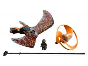 lego cole drakenmeester 70645