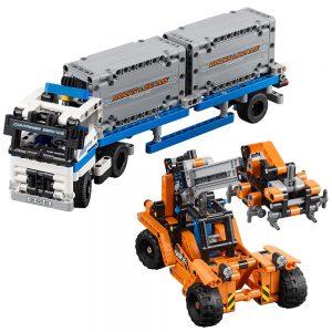 lego containertransport 42062