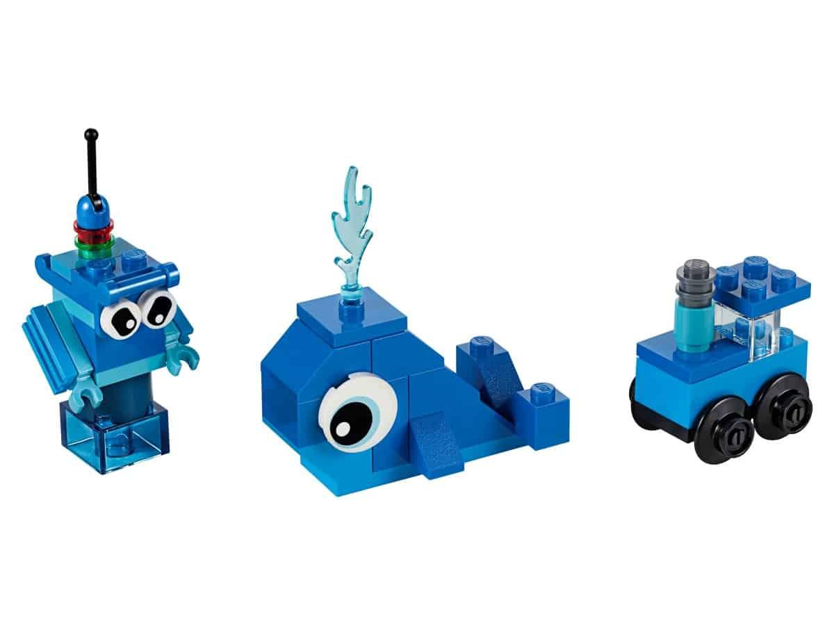 lego creatieve blauwe stenen 11006