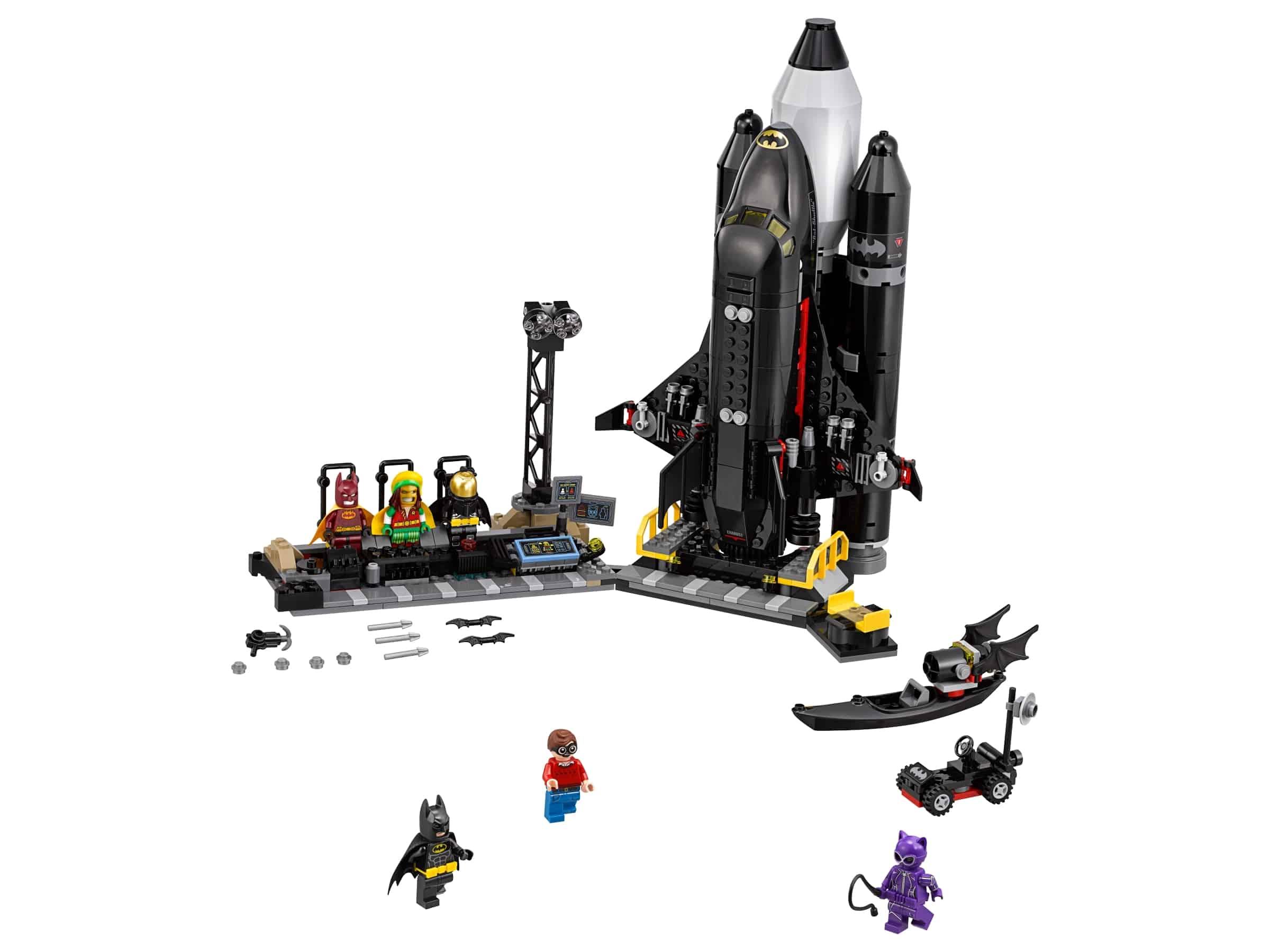 lego de bat space shuttle 70923