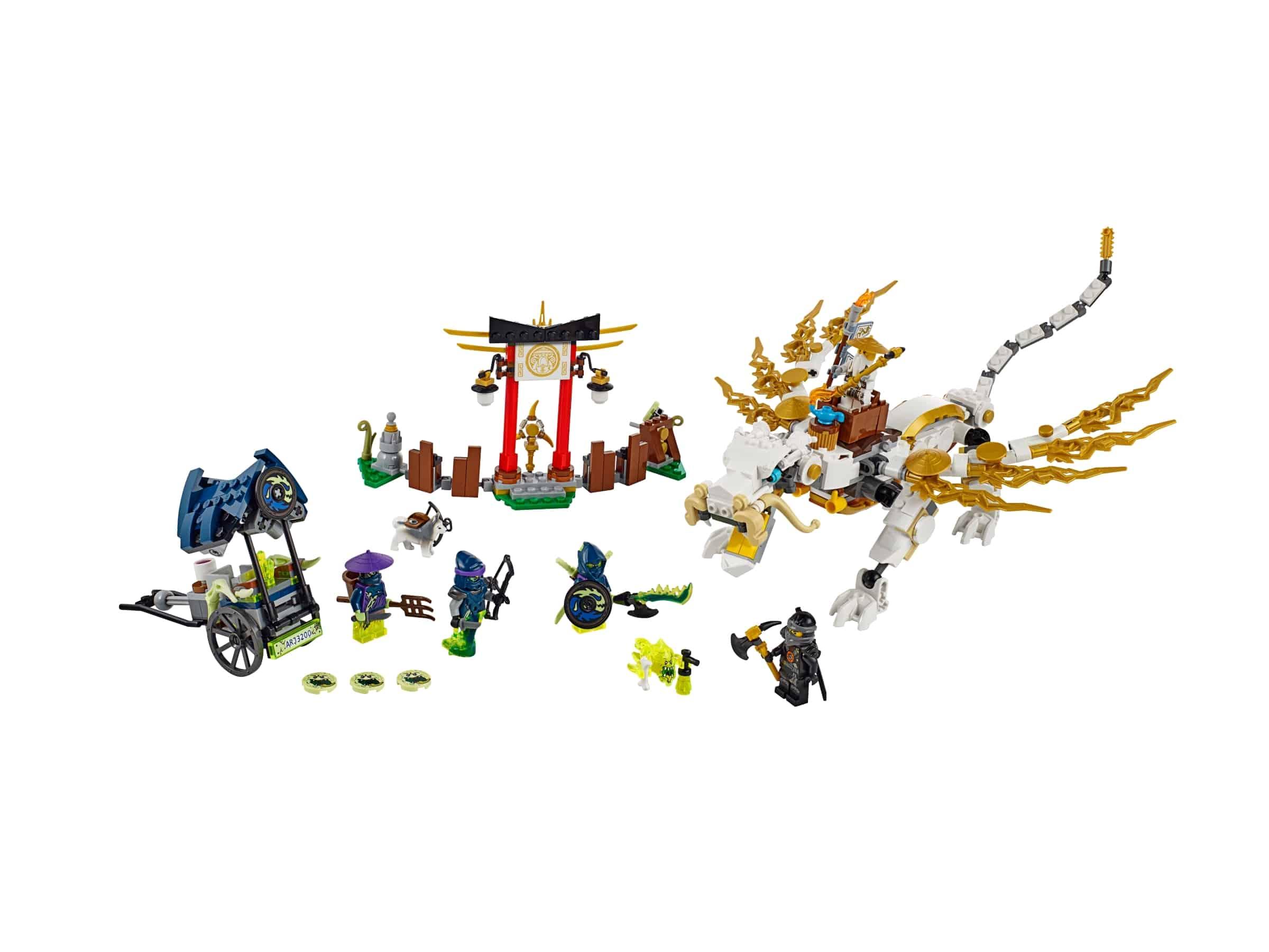 lego de draak van meester wu 70734