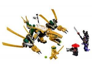 lego de gouden draak 70666