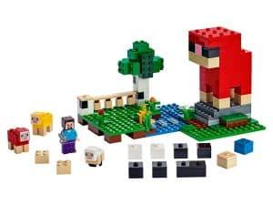 lego de schapenboerderij 21153