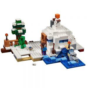 lego de sneeuwschuilplaats 21120
