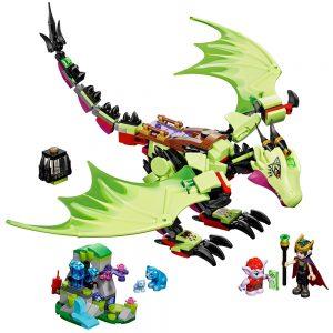 lego de wrede draak van de goblin koning 41183