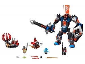 lego de zwarte ridder mech 70326