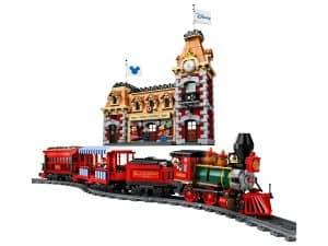 lego disney trein en station 71044