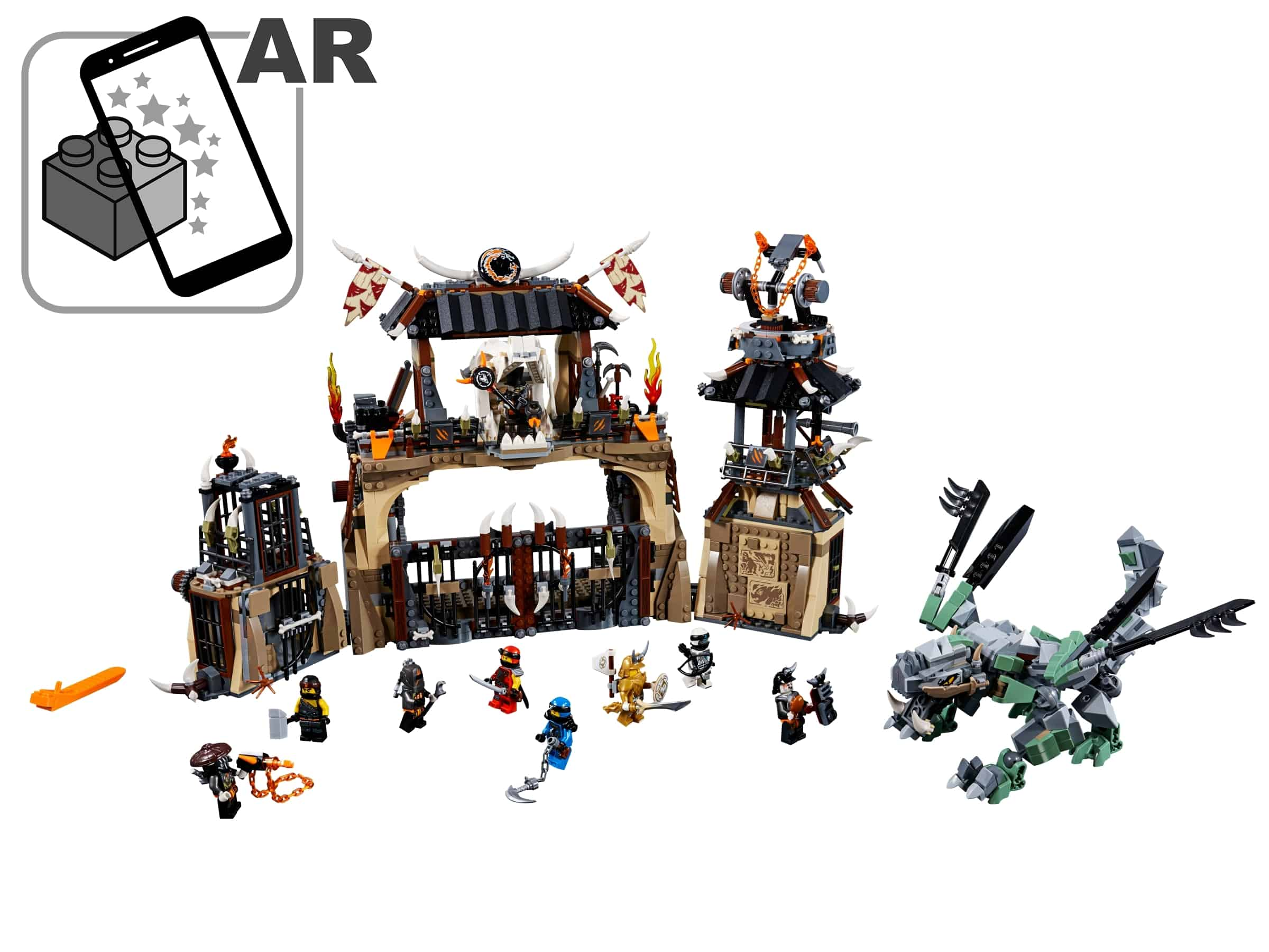 lego drakenkuil 70655