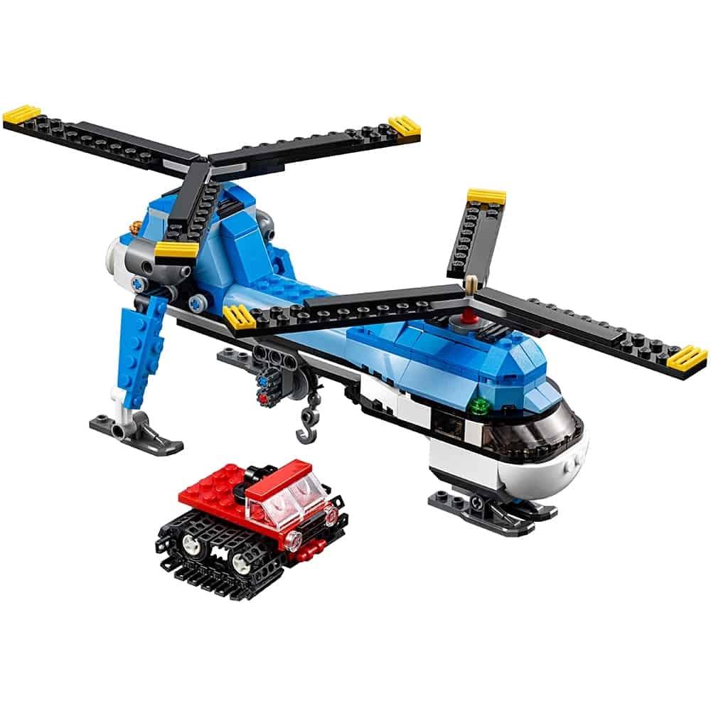 lego dubbel rotor helikopter 31049