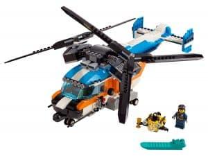 lego dubbel rotor helikopter 31096