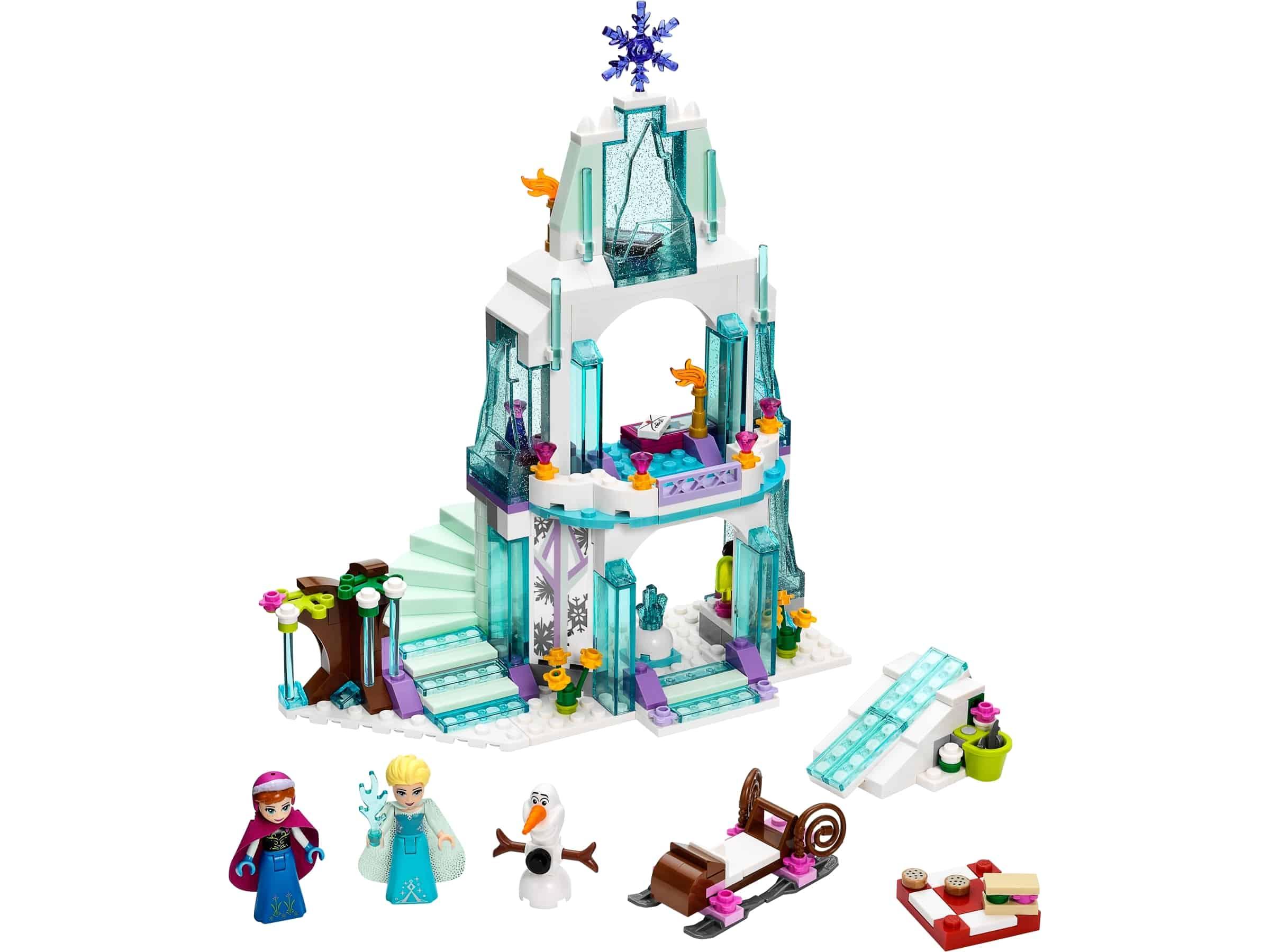 lego elsas fonkelende ijskasteel 41062