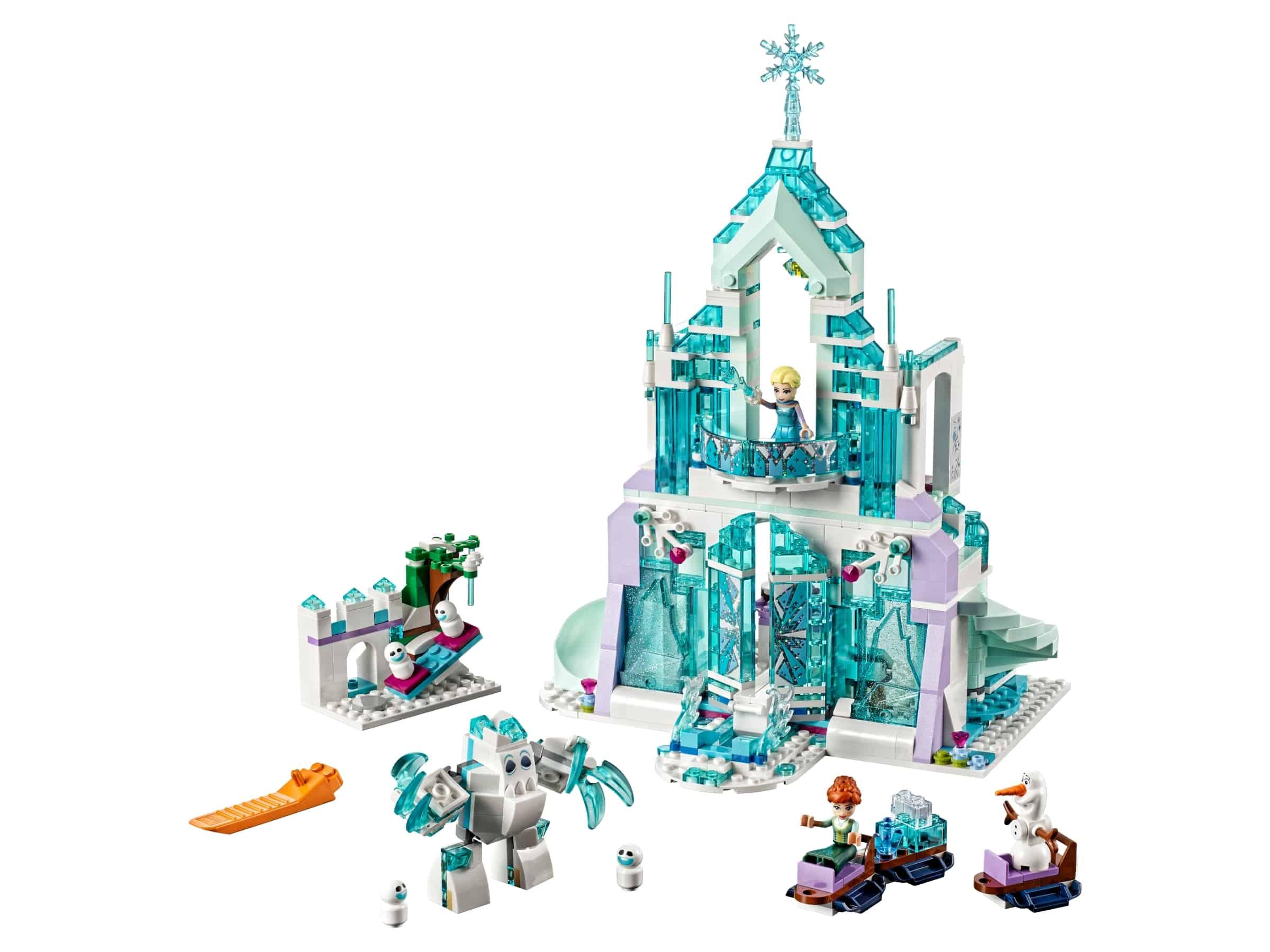 lego elsas magische ijspaleis 43172