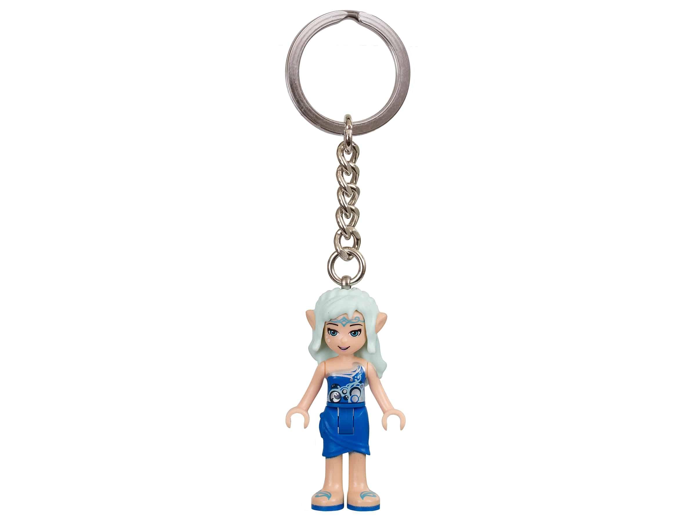 lego elves naida de waterelf sleutelhanger 853562