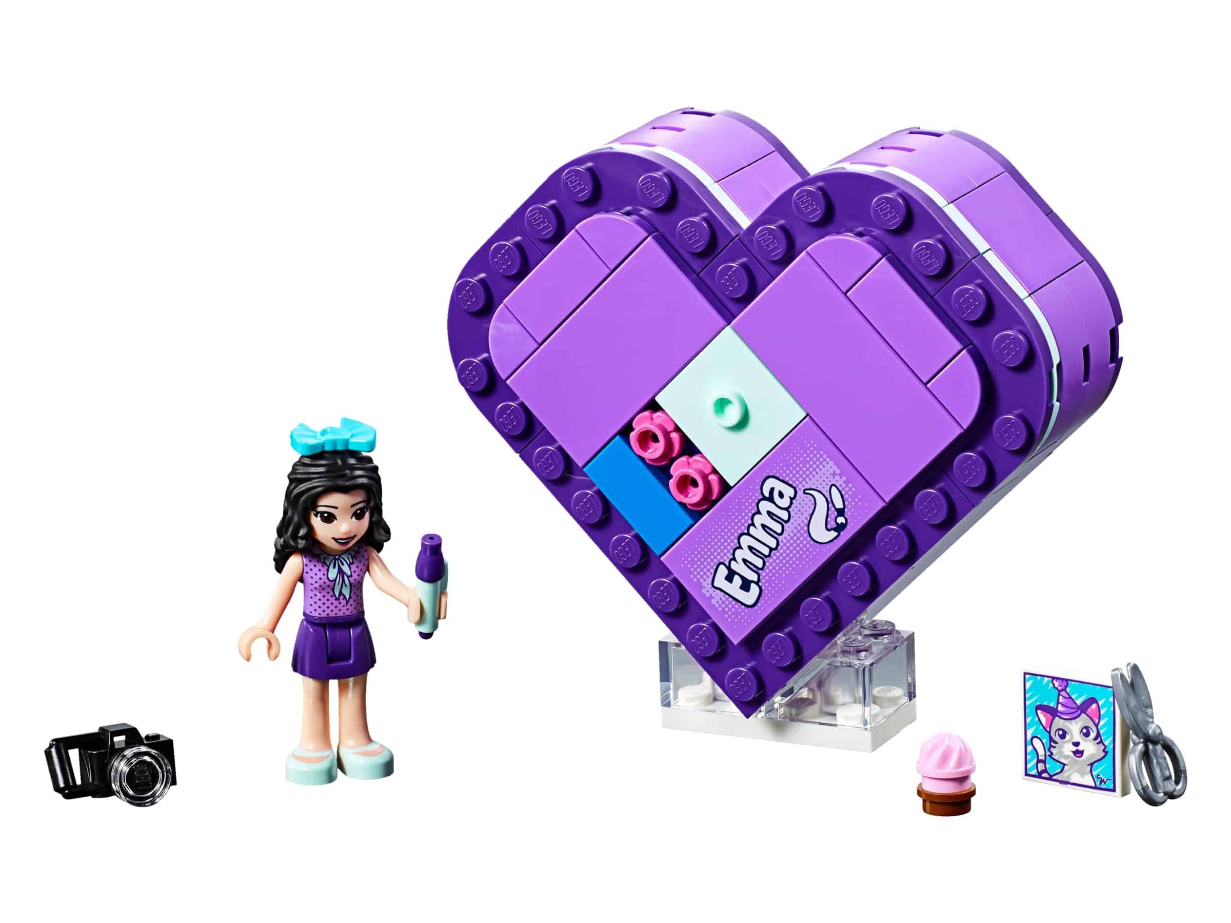 lego emmas hartvormige doos 41355