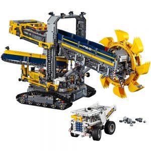 lego emmerwiel graafmachine 42055