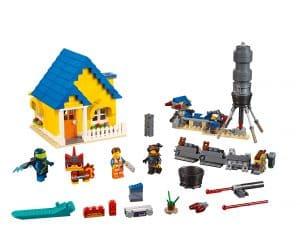 lego emmets droomhuis reddingsraket 70831