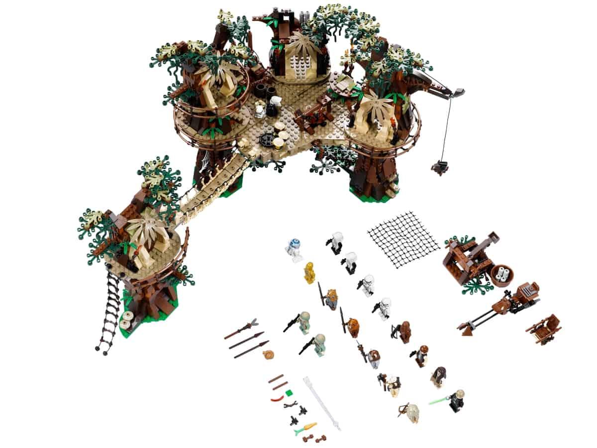 lego ewok dorp 10236
