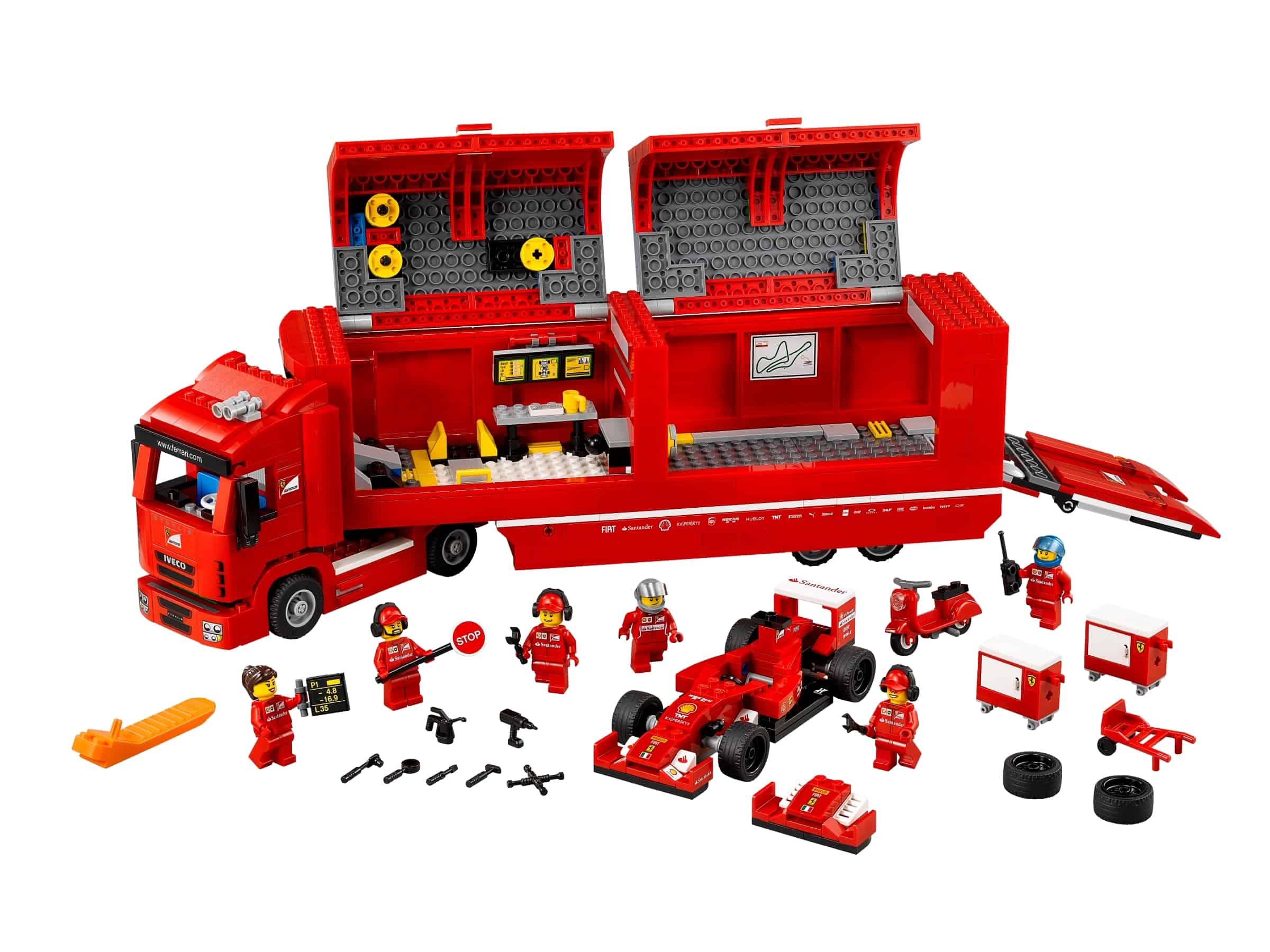 lego f14 t scuderia ferrari truck 75913