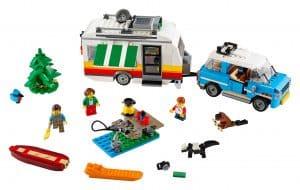 lego familievakantie met caravan 31108