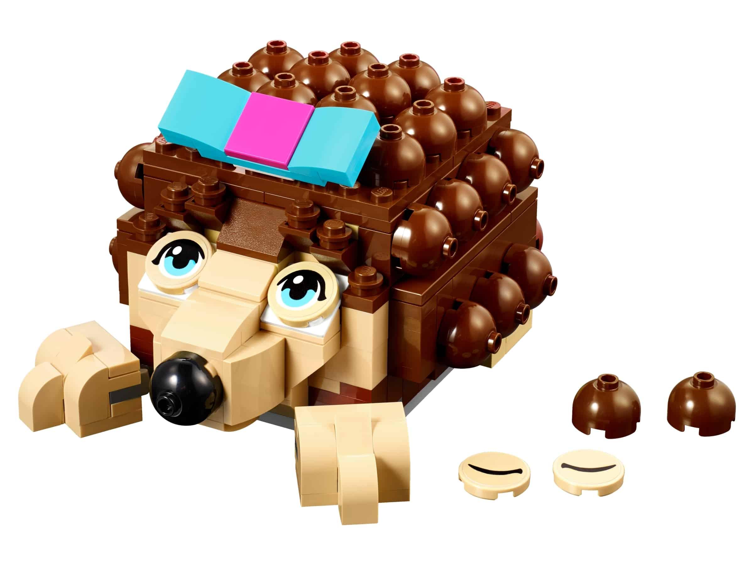 lego friends egelopbergplek om zelf te bouwen 40171