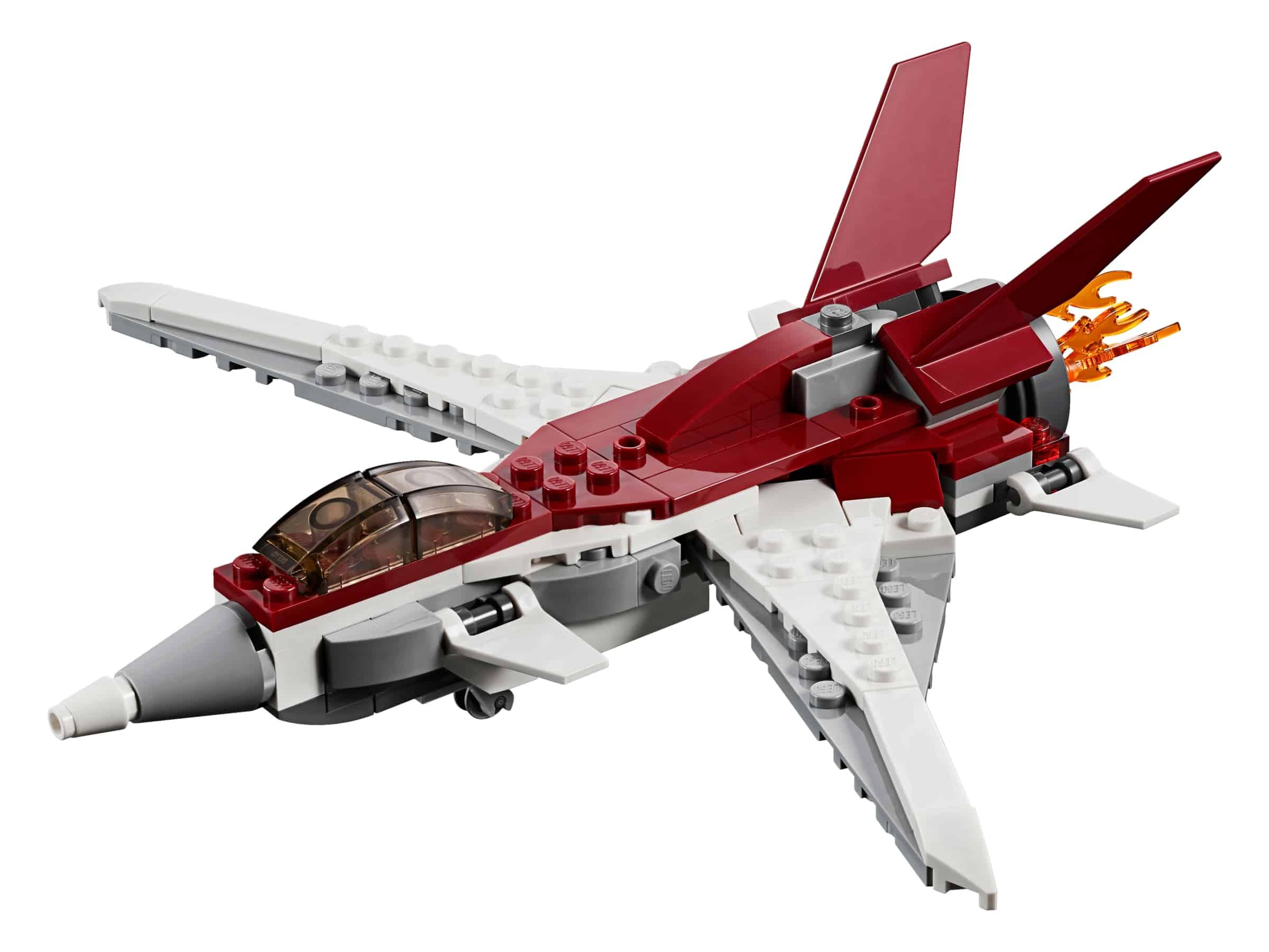 lego futuristisch vliegtuig 31086