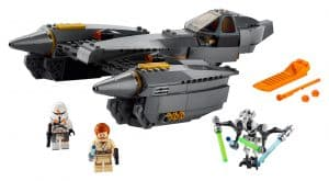 lego general grievous starfighter 75286