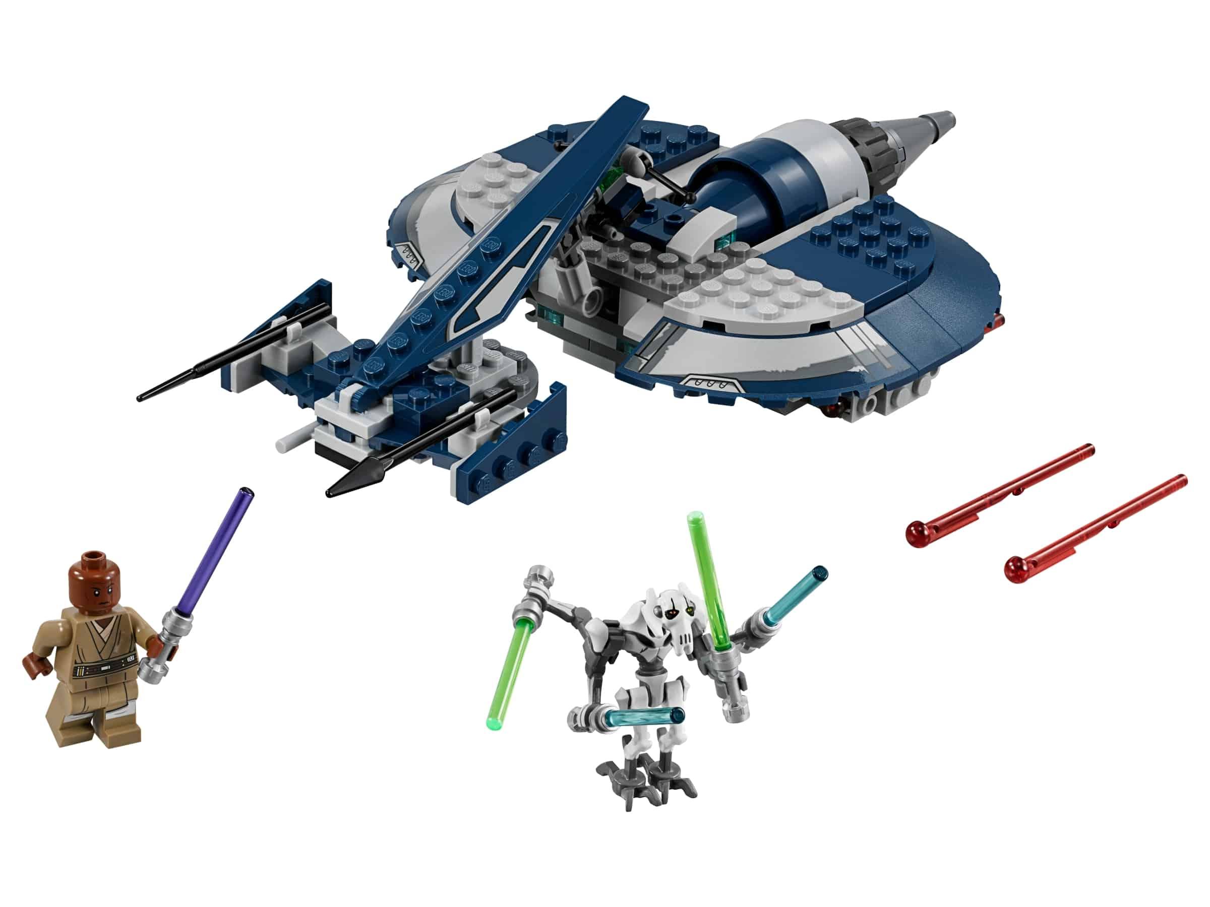 lego gevechtsspeeder van general grievous 75199