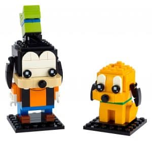 lego goofy en pluto 40378