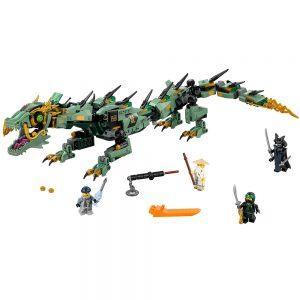 lego groene ninja mecha draak 70612