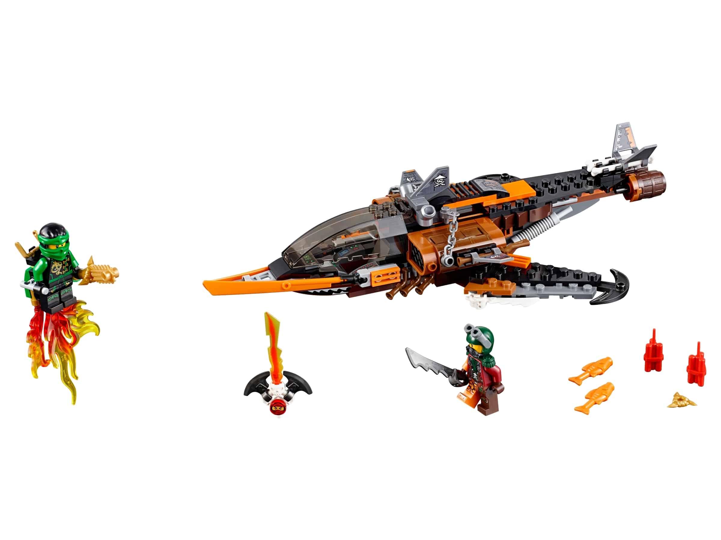 lego haaienvliegtuig 70601