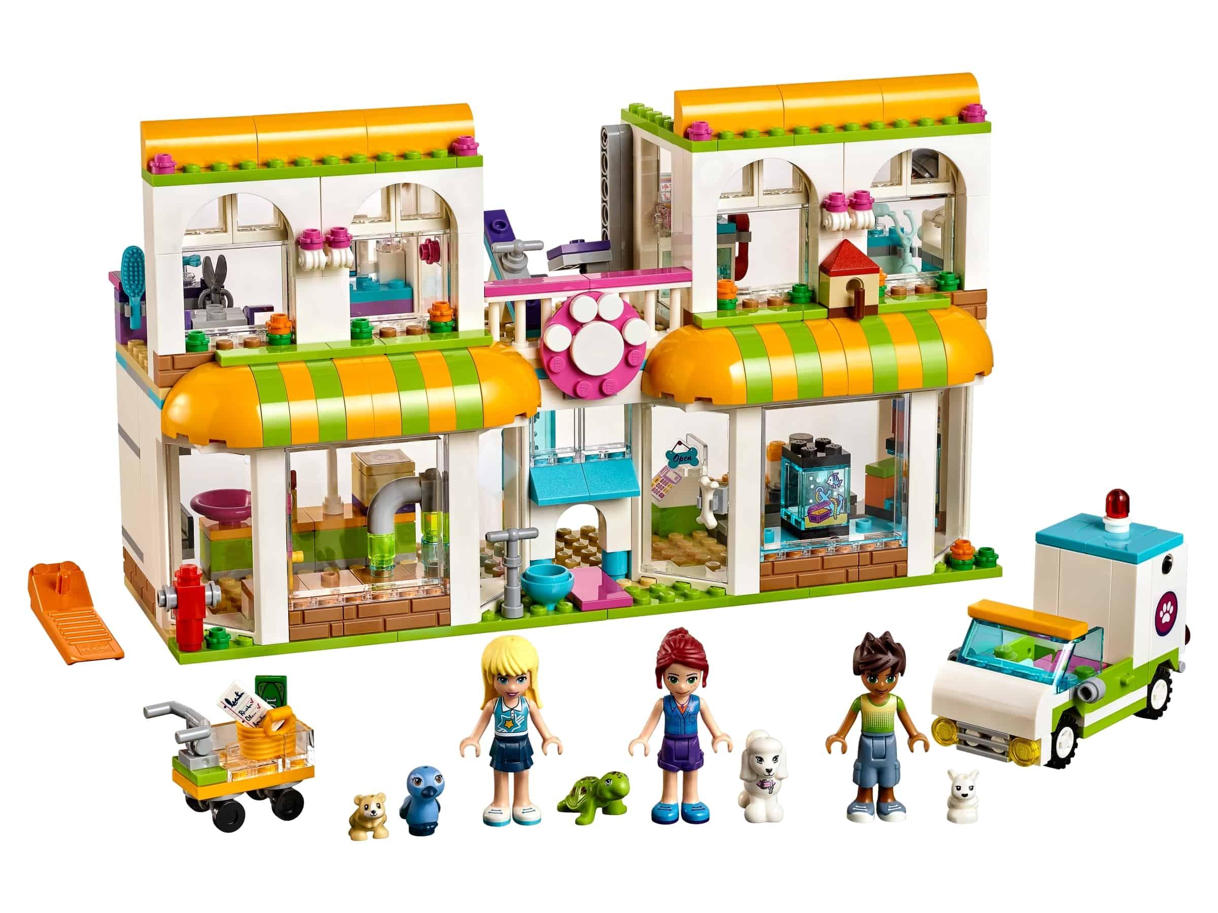 lego heartlake city huisdierencentrum 41345