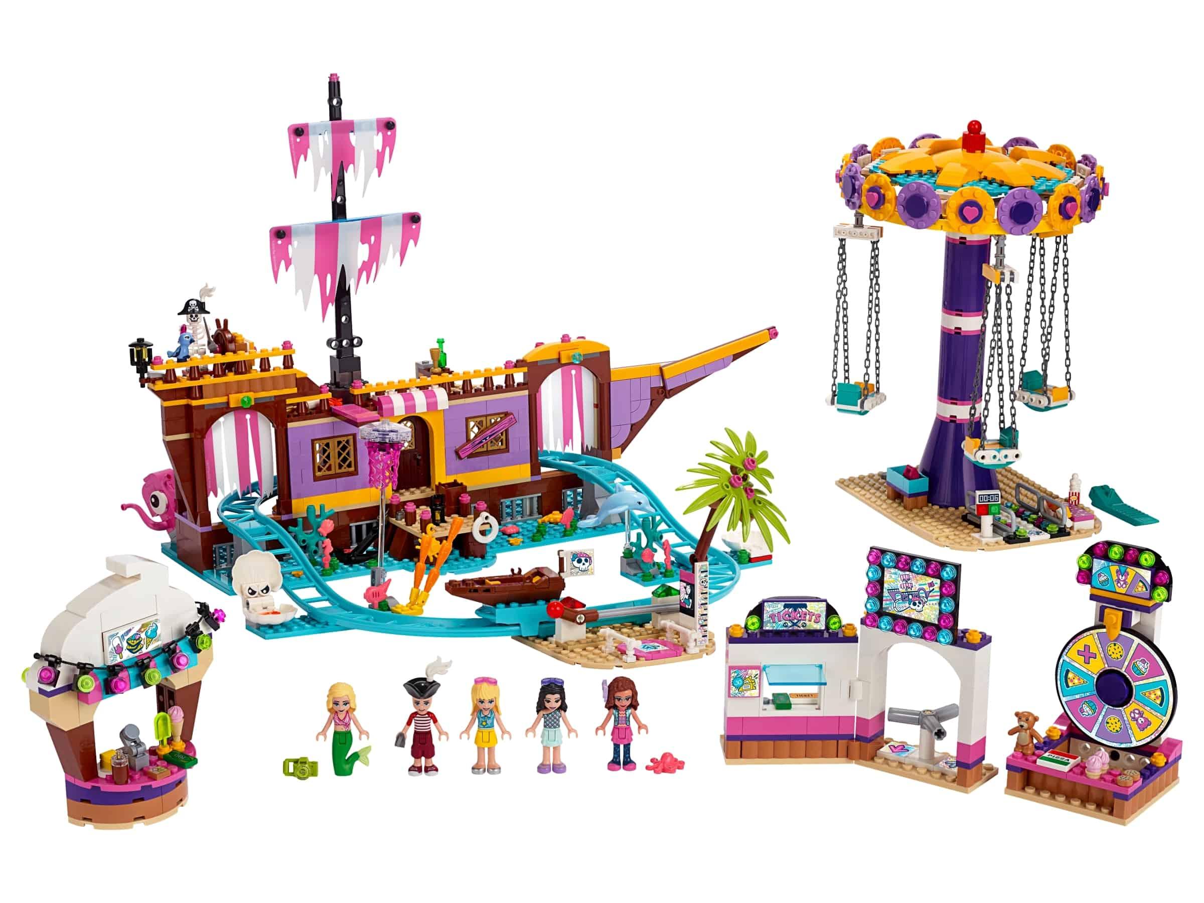 lego heartlake city pier met kermisattracties 41375