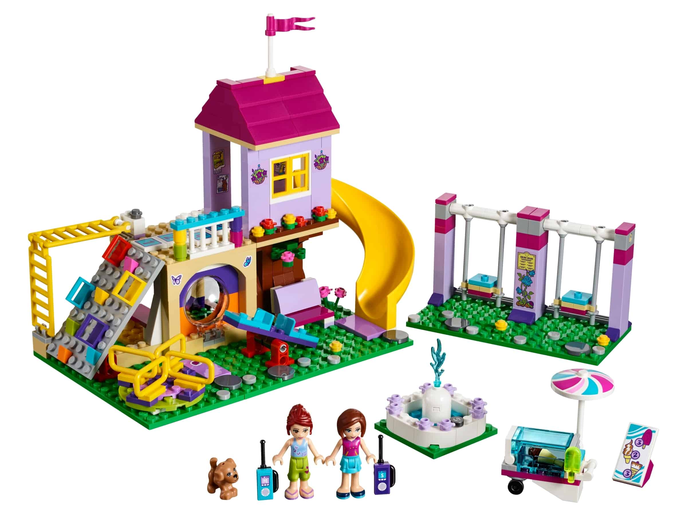 lego heartlake city speeltuin 41325