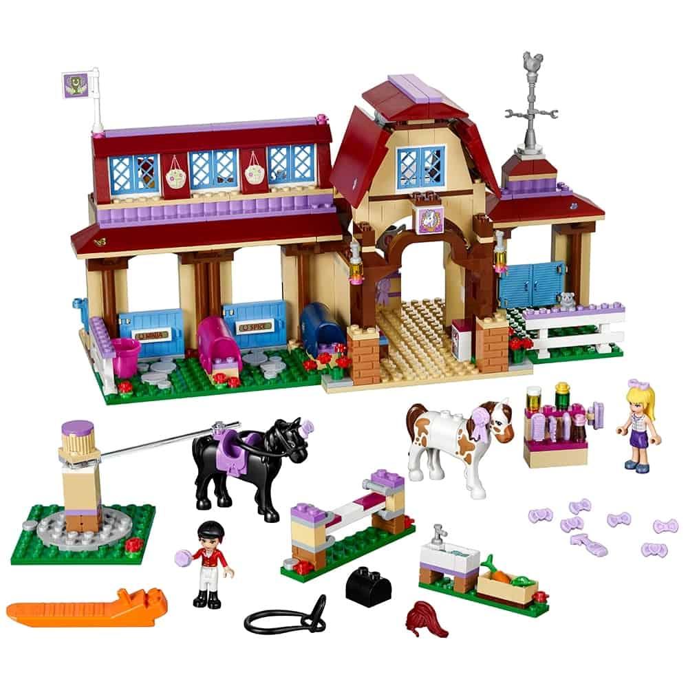 lego heartlake paardrijclub 41126