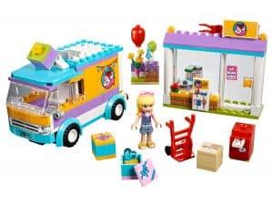 lego heartlake pakjesdienst 41310