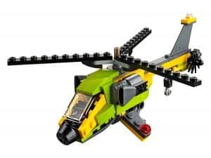 lego helikopter avontuur 31092