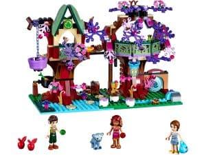 lego het boomhuis van de elfen 41075