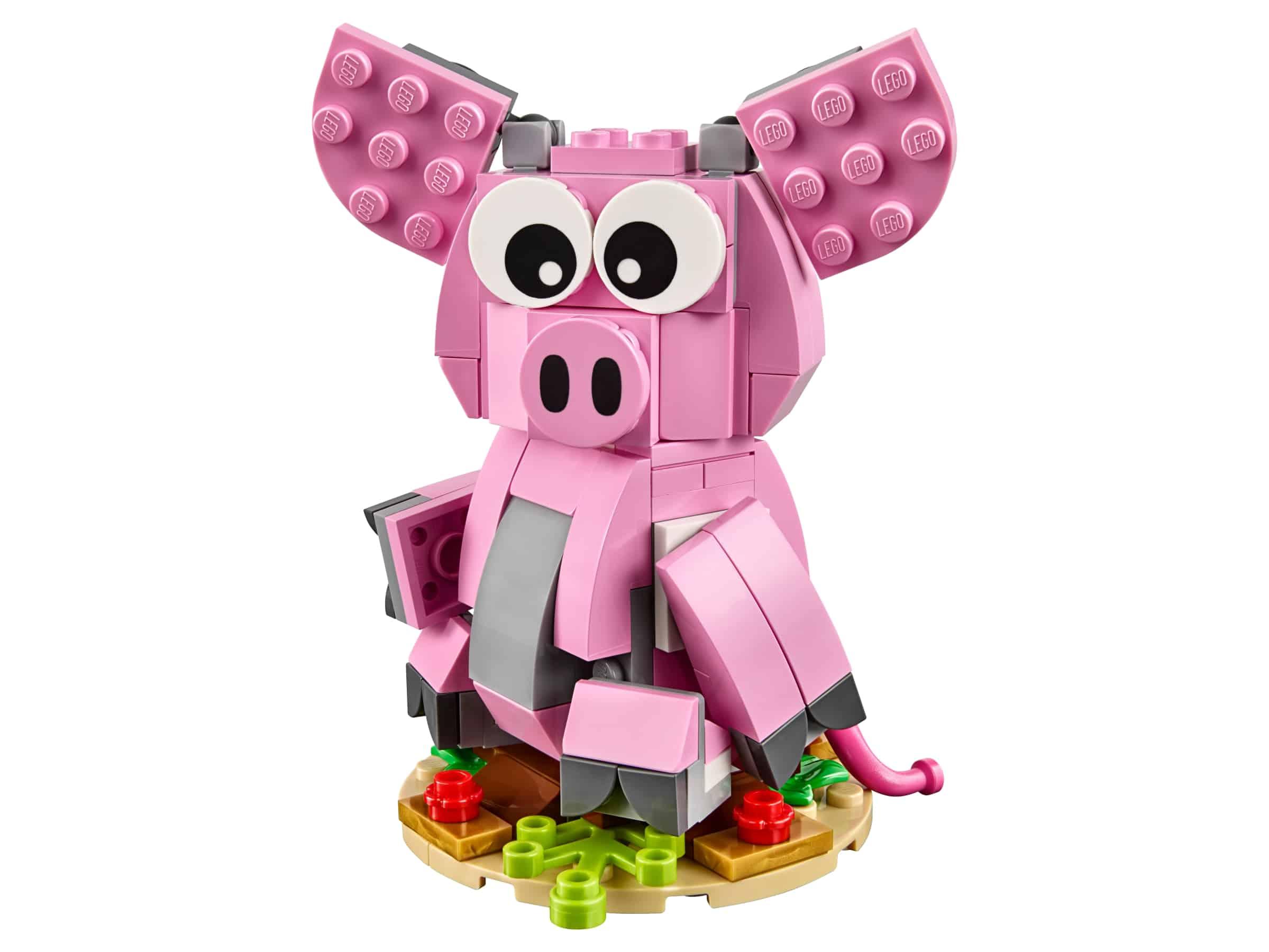 lego het jaar van het varken 40186