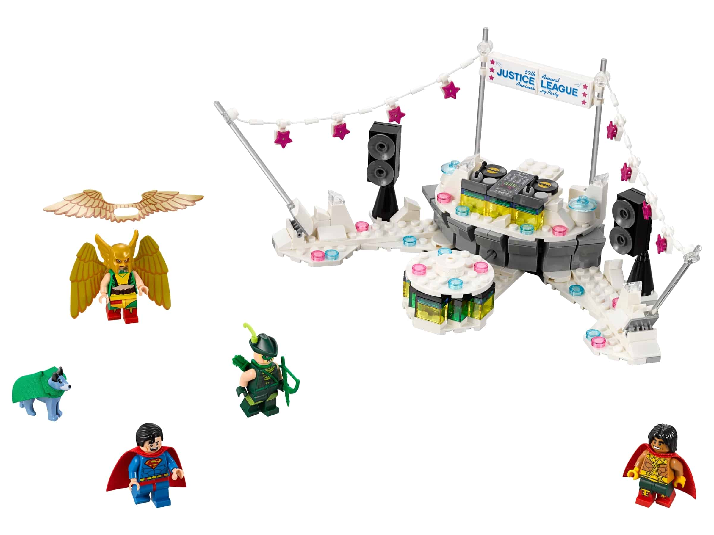 lego het justice league jubileumfeest 70919