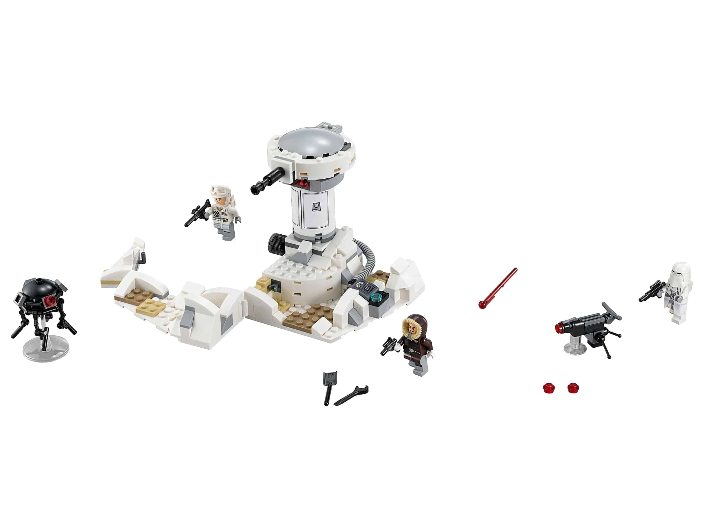 lego hoth aanval 75138