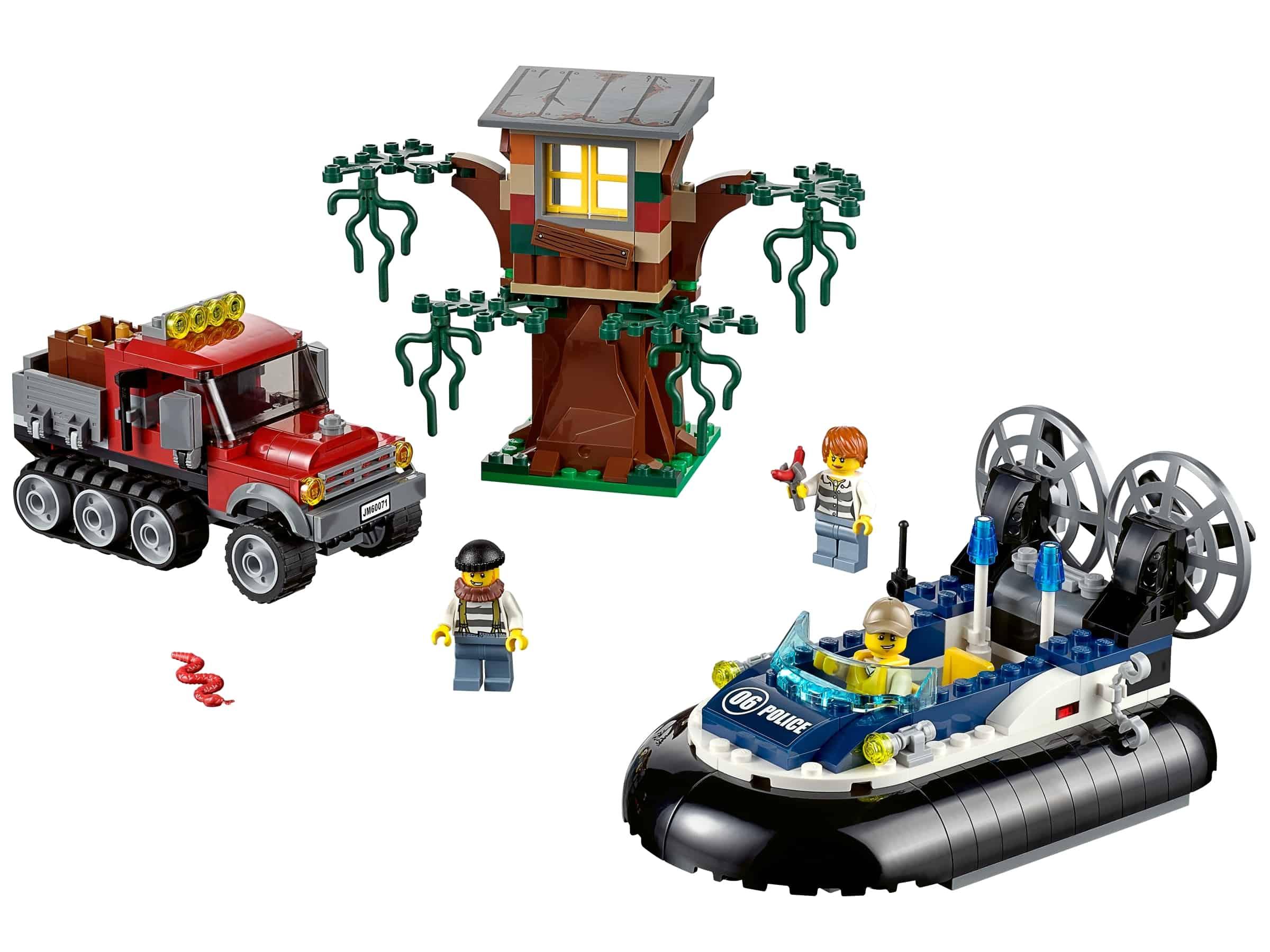 lego hovercraft arrestatie 60071