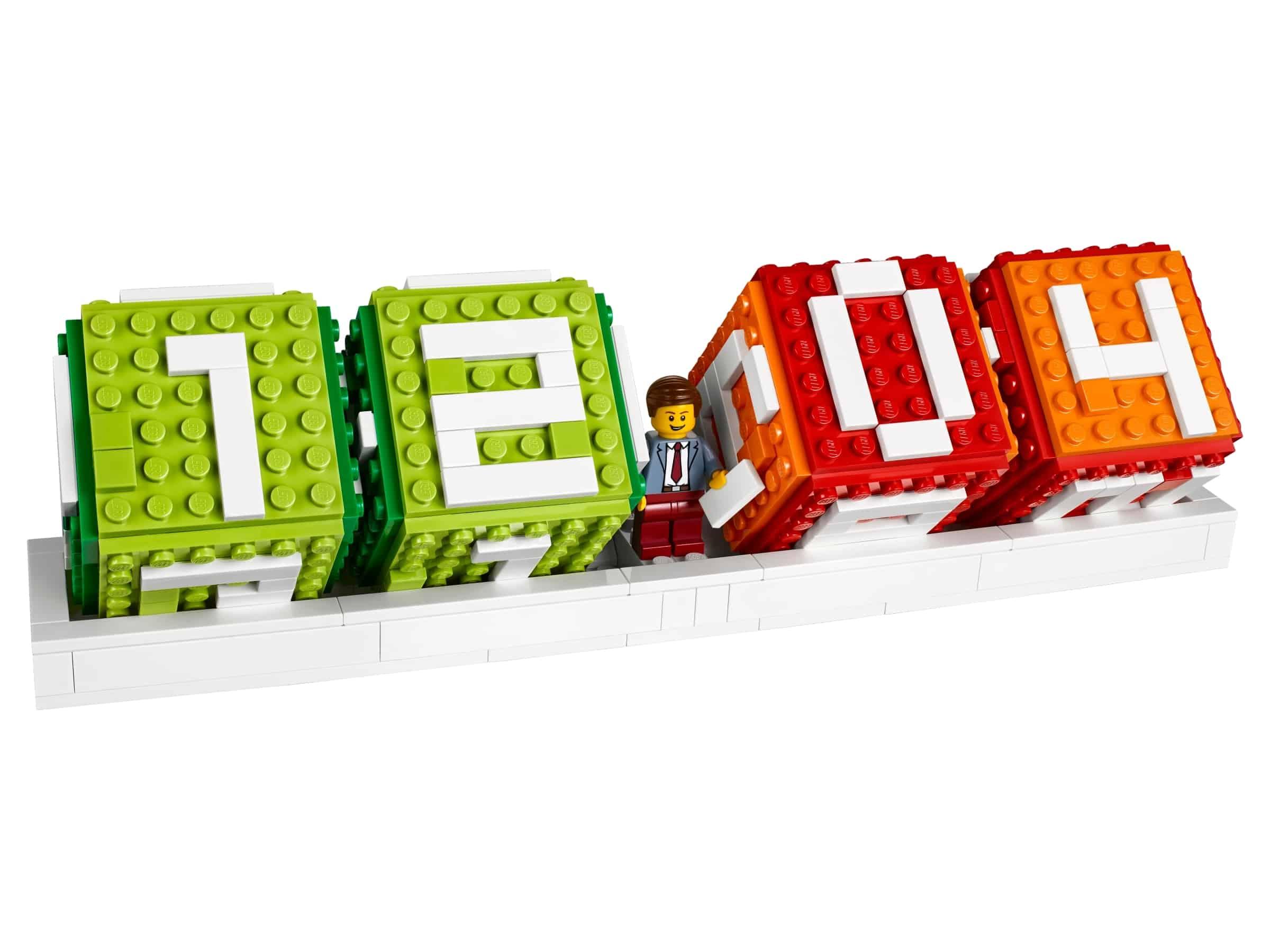 lego iconische bouwsteenkalender 40172