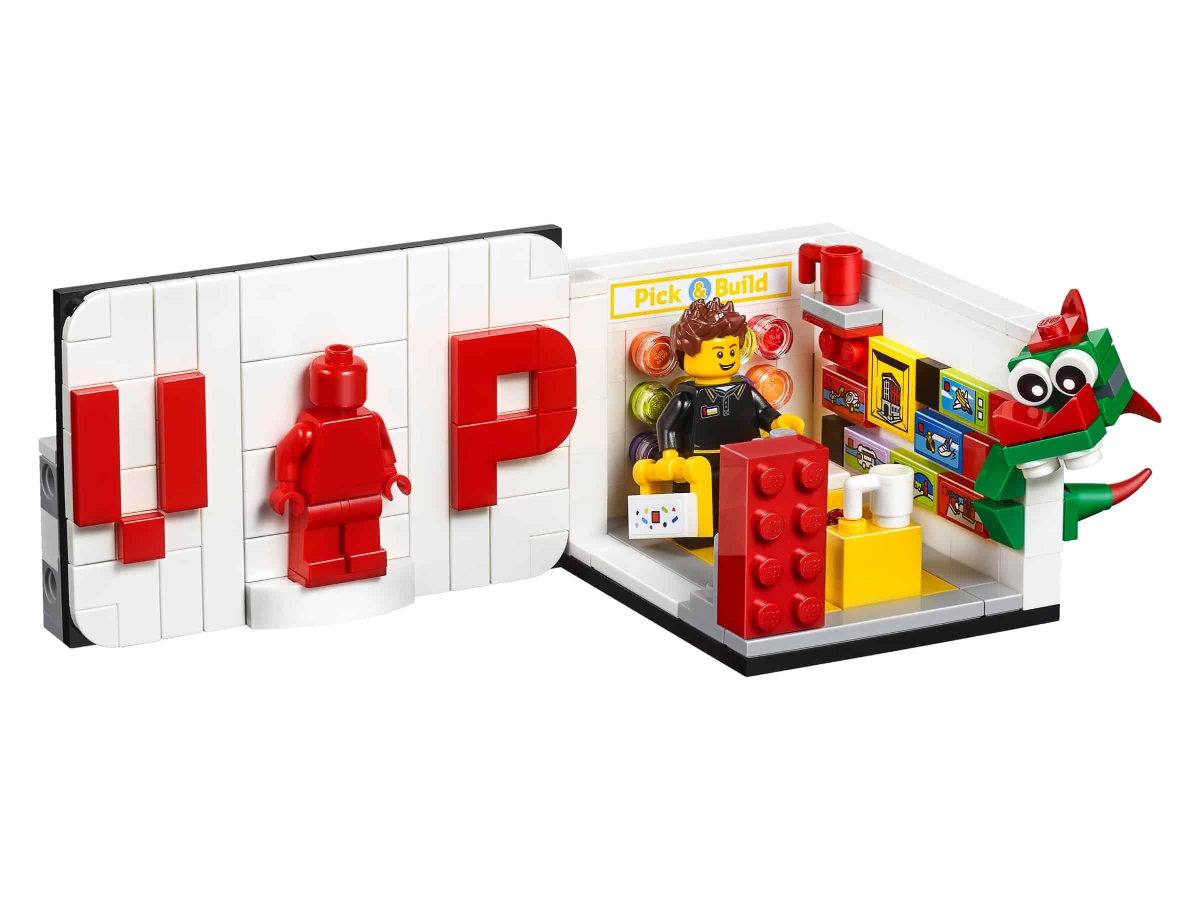 lego iconische vip set 40178