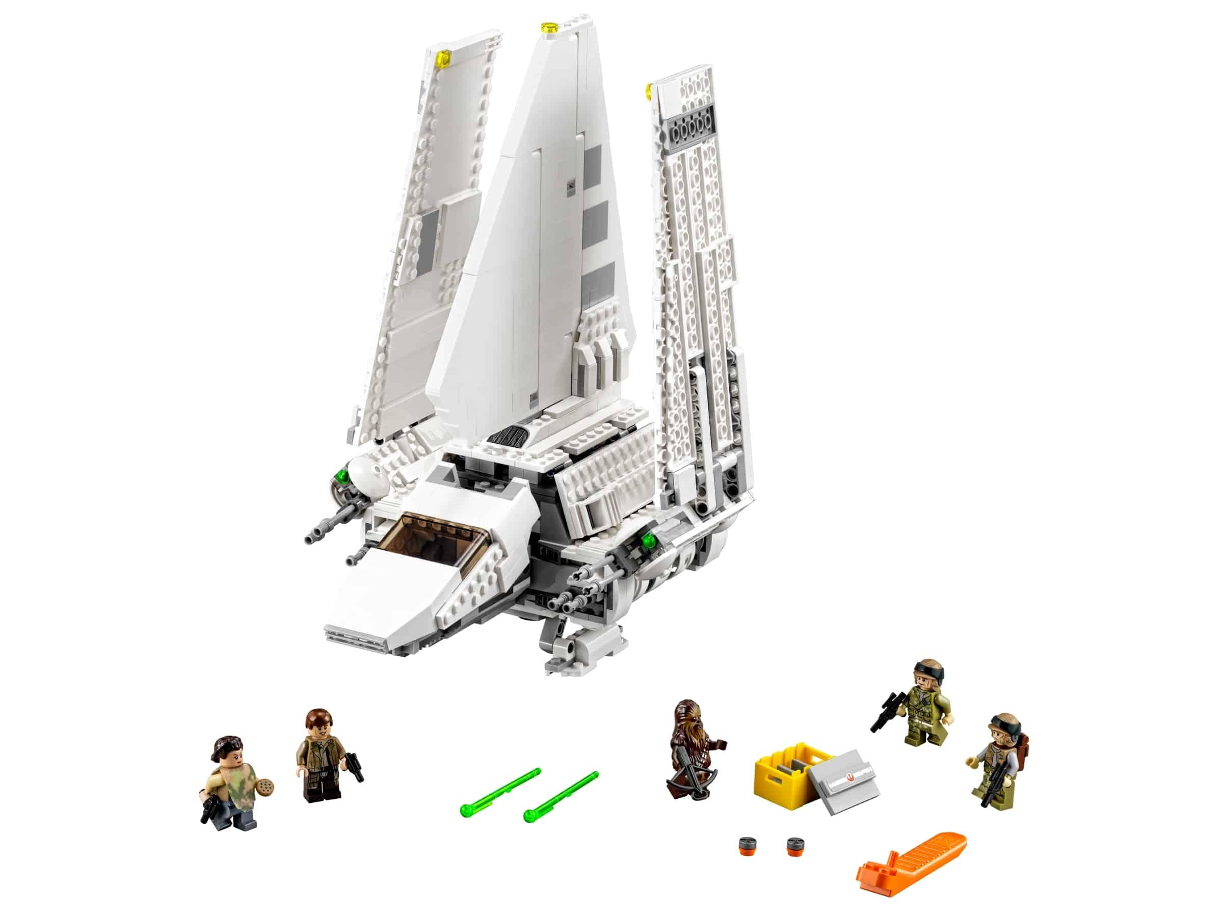 lego imperial shuttle tydirium 75094