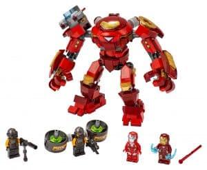 lego iron man hulkbuster versus a i m agent 76164