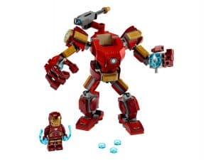 lego iron man mecha 76140