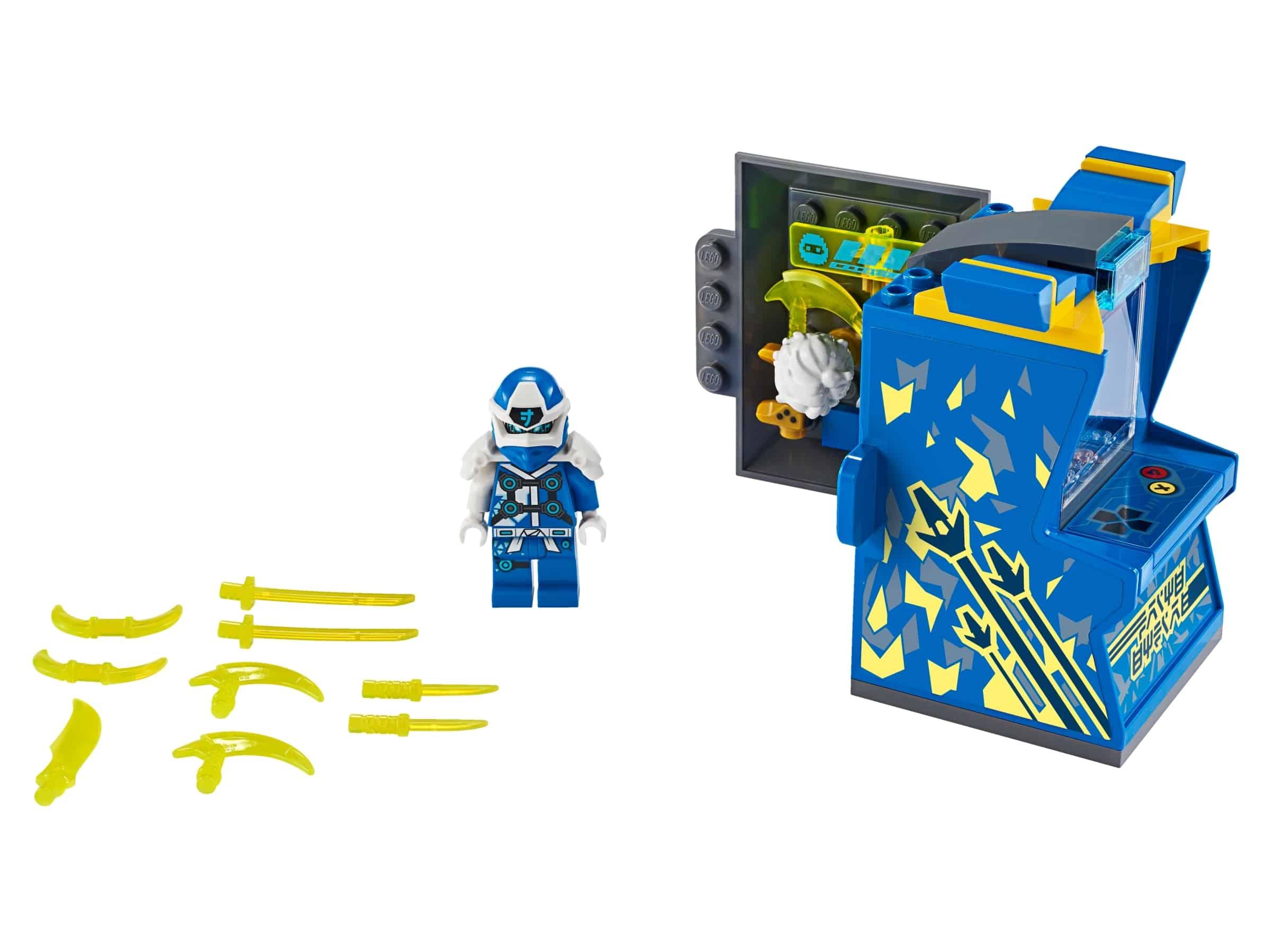 lego jay avatar arcade pod 71715