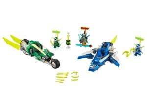 lego jay en lloyds supersnelle racers 71709