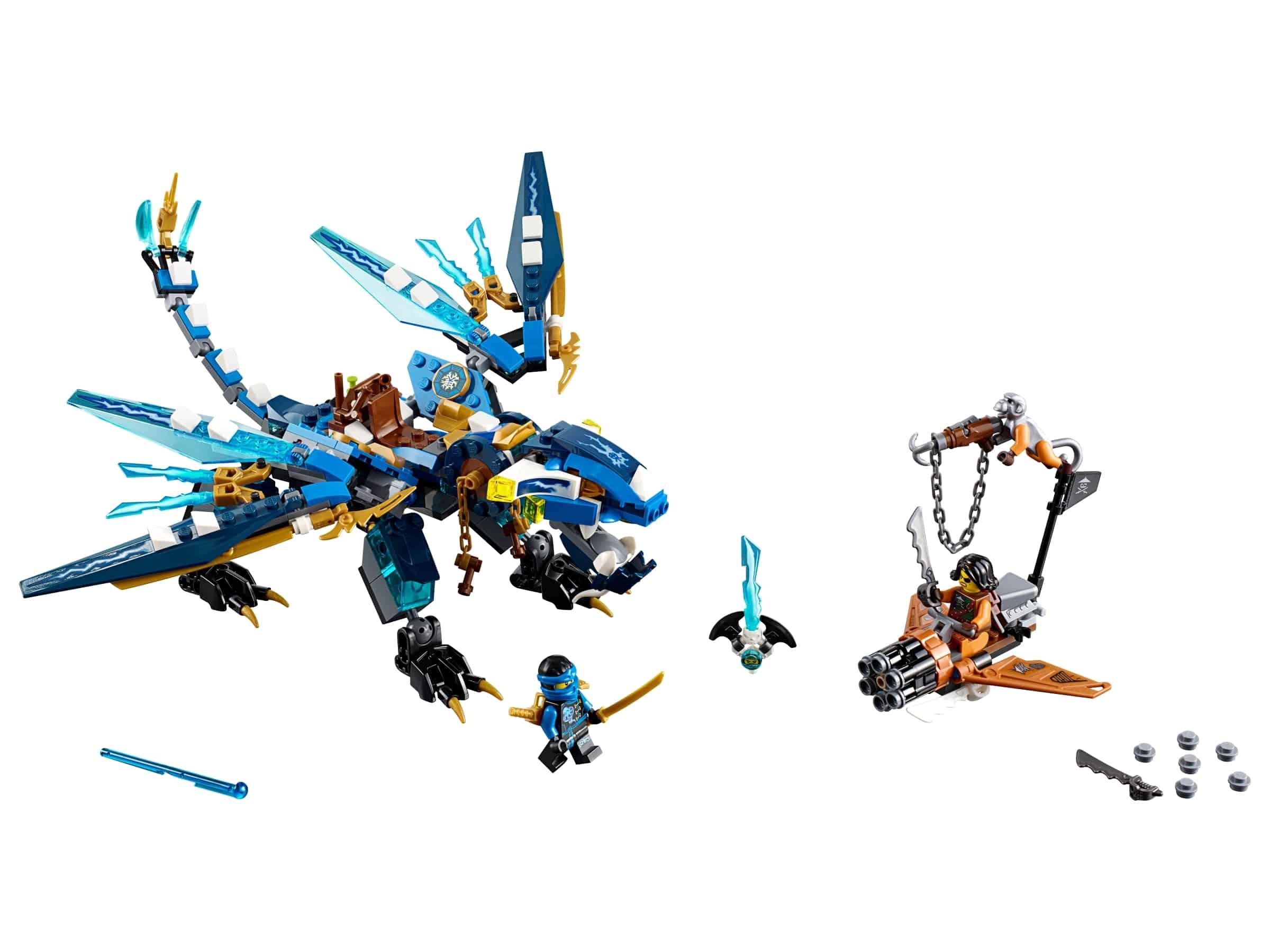 lego jays draak 70602