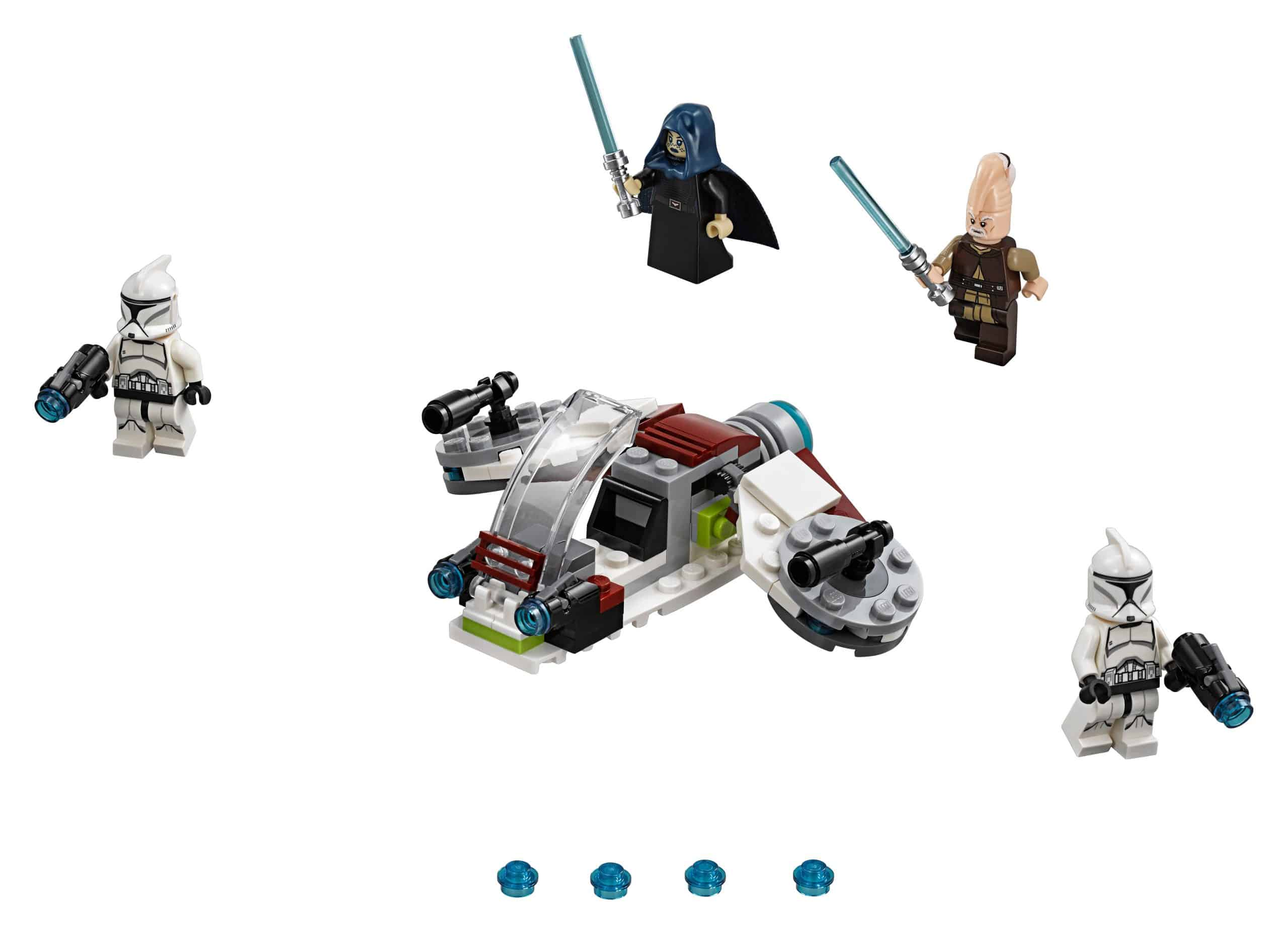 lego jedi en clone troopers battle pack 75206 scaled